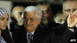 Le président de l'Autorité palestinienne Mahmoud Abbas a promulgué mercredi 20 accords internationaux (AFP)