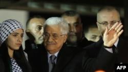 Palestinski predsednik Mahmud Abas na proslavi 50. godišnjice osnivanja pokreta Fatah, u Ramali, 31. decembra 2014.