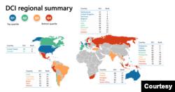 Laporan Microsoft: DCI regional summary (Infographic: Microsoft)