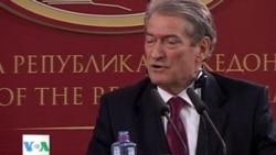 Kryeministri Sali Berisha viziton Maqedoninë