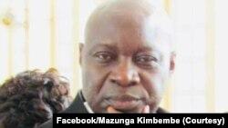 Jean Kimbembe Mazunga mokambi ya kala ya SCPT (Onatra ya kala) mpe mokambi ya kala ya Onatra (SCPT), Kinshasa, 8 décembre 2018. (Facebook/Mazunga Kimbembe)