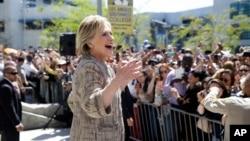 Ứng viên đảng Dân chủ, cựu Ngoại trưởng Mỹ Hillary Clinton.
