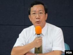 台湾律师公会大陆委员会主委姜志俊律师 (美国之音张永泰拍摄)