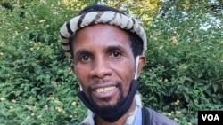 UMnu. Mqondisi Moyo, umkhokheli webandla leMthwakazi Republic Party. (Photo: Ezra Tshisa Sibanda)