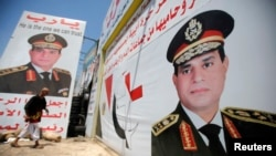 ژنرال السیسی: کاندیدای احتمالا بی رقثب