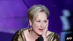 En İyi Kadın Oyuncu Oscar'ı Üçüncü Kez Meryl Streep'in