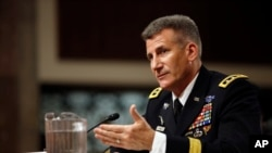 Afg'onistondagi NATO va AQSh kuchlarining yangi qo'mondoni bo'lishi kutilayotgan general-leytenant Jon Mik Nikolson