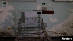 Sebuah kamar pasien yang tidak terawat tampak di rumah sakit Jose Gregorio Hernandez, di kawasan kumuh Catia, Caracas, Venezuela (foto: ilustrasi).