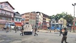 پلیس در کشمیر هند بر روی تظاهرکنندگان آتش گشود