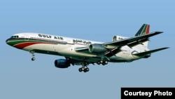 Авиалайнер Lockheed L-1011TriStar авиакомапнии Gulf Air. Фото courtesy en.wikipedia.org/Steve Fitzgerald