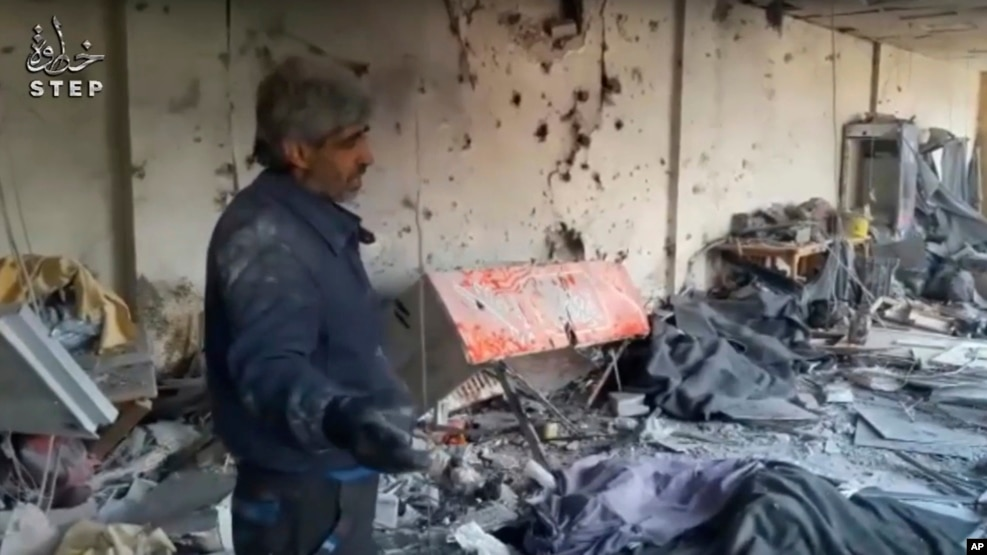 Shelling Near Syrian Capital leaves several casualties