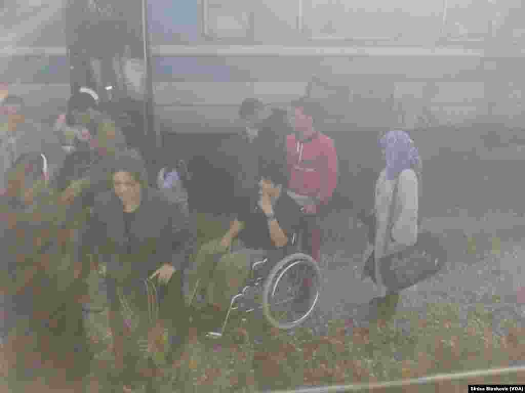 Migrants - Macedonia Tabanovce, Macedonian Serbian border September 17, 2015