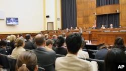 美国众议院外交委员会举行中国威胁听证会