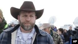 Ammon Bundy, líder dos ocupantes das instações federais no estado de Oregon