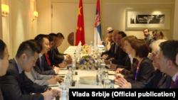 Premijerka Srbije Ana Brnabić boravi u višednevnoj poseti Kini (Foto: official publication)