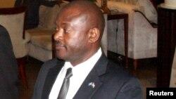 Shugaban kasar Burundi Pierre Nkurunziza, wanda ba'a san takamaimai inda yake ba