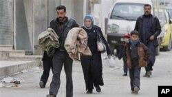霍姆斯市受攻擊﹐內居民出逃