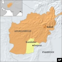 Thị trấn Panjwai trong tỉnh Kandahar, Afghanistan