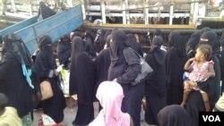 Réfugiés somaliens /Yemen, le 4-11-2015