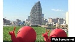 ساخت هتل بین المللی و برج ترامپ در باکو پاییز گذشته نیمه کاره رها شد.