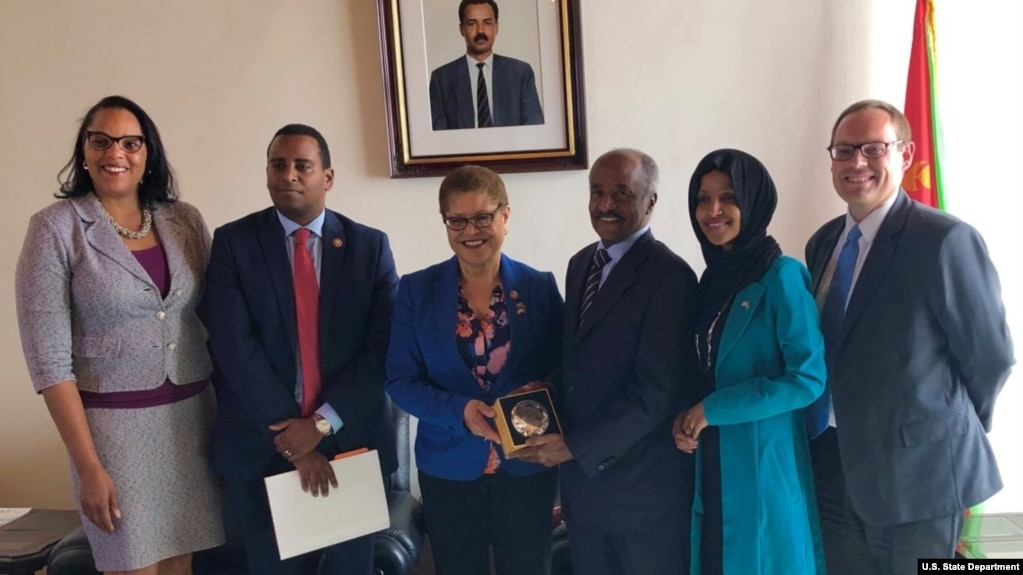 US Congresswoman Calls on Eritrea to Release American