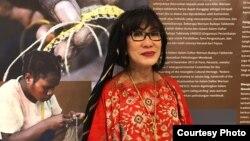 Prof. Herawati Soepolo PhD., periset di Lembaga Biologi Molekuler Eijkman yang melakukan penelitian tentang asal usul orang Indonesia. (dok. pribadi)