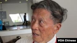 自由中國號船員 周傳鈞 (美國之音張永泰拍攝)