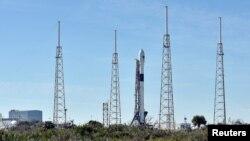 На фото: ракета Falcon 9 компанії SpaceX