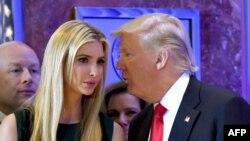 美国总统的女儿伊万卡(Ivanka Trump)