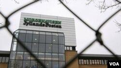 Kantor surat kabar Denmark Jyllаnds-Posten yang menjadi target rencana serangan teroris.