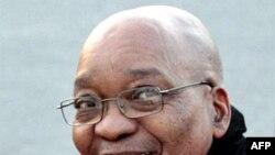Cənubi Afrika respublikasının prezidenti Çeykob Zuma Liviyadadır