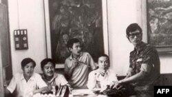 Một nguời bạn, Kim Tuấn, Nguyễn văn Hiền, Đinh Cường, Hạ Quốc Huy - tuần lễ văn hoá Pleiku 1974