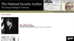 Веб-сторінка Архіву Національної Безпеки