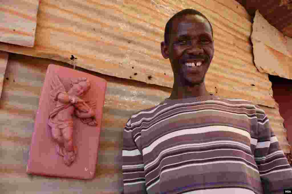 Mohalalelwa is happy to be alive but regrets he hasn't rescued some of his HIV-infected neighbors. (Photo by Darren Taylor)