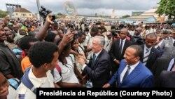 Marcelo Rebelo de Sousa em vista de estado a São Tomé e Príncipe
