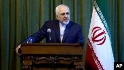 """محمدجواد ظریف هشدار داد که """"صبر و تحمل"""" ایران در قبال اقدامات عربستان همیشگی نخواهد بود."""