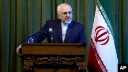 """ظریف میگوید که منتظر اجرای سیاست از سوی دولت آمریکاست و """"کاری به کنگره و قوانین آن"""" ندارد"""