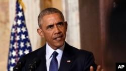 Presiden Amerika Barack Obama akan mengunjungi keluarga korban penembakan di Orlando, Florida, Kamis (16/6). (Foto: dok).