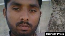 Taimoor Raza , o jovem condenado à morte.
