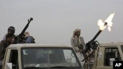 ایران نواز حوثی باغیوں نے 2014 میں یمن کے دارالحکومت صنعا پر قبضہ کر لیا تھا۔ (فائل فوٹو)