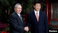 Raúl Castro consigió por lo pronto concretar ocho acuerdos de cooperación financiera y técnica con China.