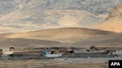 Pangkalan militer yang diserang militan Taliban di Arghandab, distrik Kandahar, Afghanistan Selatan, 23 Mei 2017. (Foto: dok).