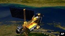 سهتهلایهتی UARS که له 15 ی مانگی نۆی سـاڵی 1991 ڕهوانهی ئاسـمان کراوه