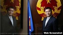 Tổng lãnh sự Việt Nam tại Hồng Kông và Macau Hoàng Chí Trung. Ảnh chụp màn hình trang web South China Morning Post.