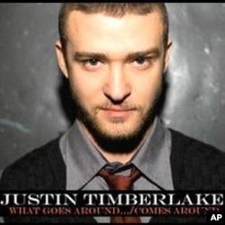 """Justin Timberlake's """"What Goes Around.../Comes Around"""" CD Single"""