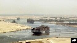 이집트 수에즈 운하 (자료사진)