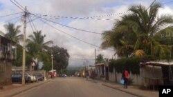 Aspecto da cidade de Nampula
