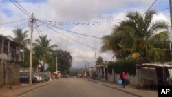 Vista da cidade de Nampula