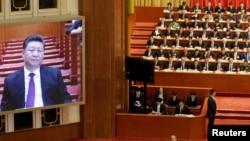 强化中共党内绝对领导地位 核心层成员两会前向习近平述职