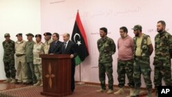 리비아의 과도 위원회 간부들